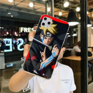 Boruto Cursed Mark iPhone 12 (Mini, Pro & Pro Max) Case