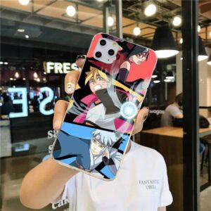 Boruto Mitsuki and Sadara New Team 7 iPhone 12 Cover