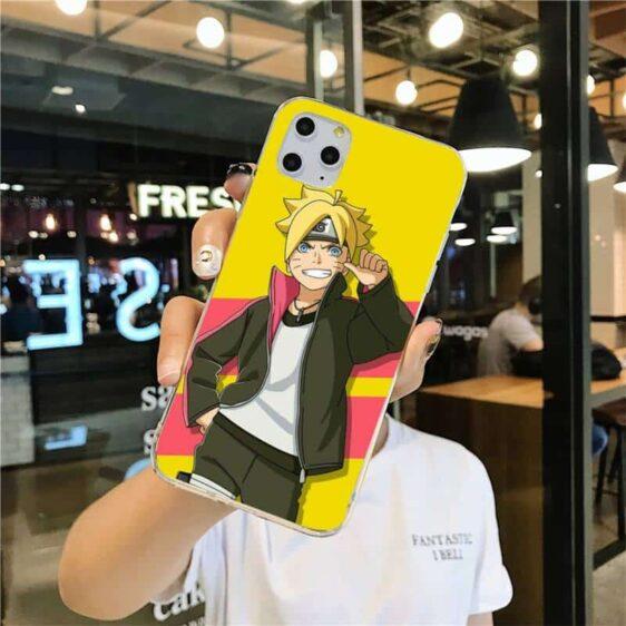 Boruto Uzumaki Yellow iPhone 12 (Mini, Pro & Pro Max) Cover