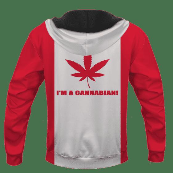 Cannabian Flag Cannabis Enthusiast Marijuana Hoodie