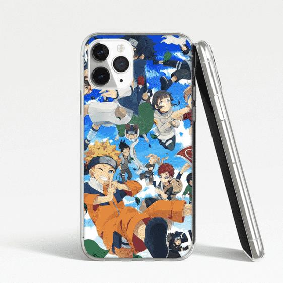 Chibi Naruto Characters iPhone 12 (Mini, Pro & Pro Max) Cover