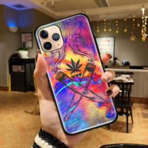 Cross Smoking Joints iPhone 12 (Mini, Pro & Pro Max) Case