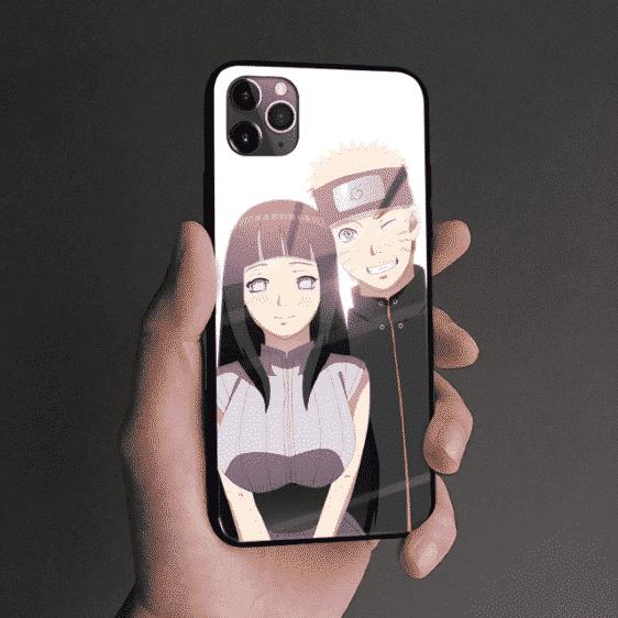 Cute Hinata And Naruto iPhone 12 (Mini, Pro & Pro Max) Case