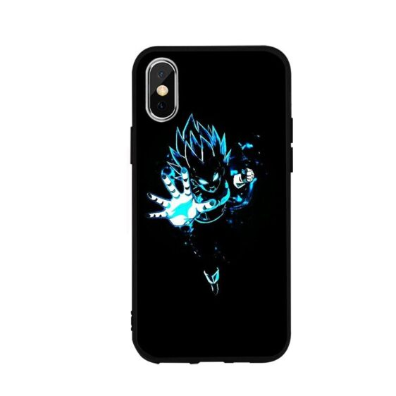 DBZ Angry Vegeta Charging iPhone 12 (Mini, Pro & Pro Max) Cover