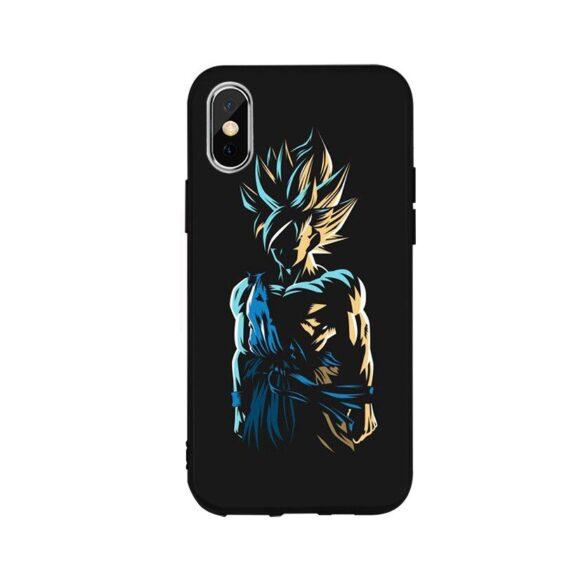 DBZ Badass Goku Silhouette iPhone 12 (Mini, Pro & Pro Max) Cover