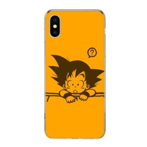 DBZ Clueless Kid Goku iPhone 12 (Mini, Pro & Pro Max) Case