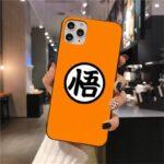 DBZ Goku Kanji Symbol iPhone 12 (Mini, Pro & Pro Max) Cover