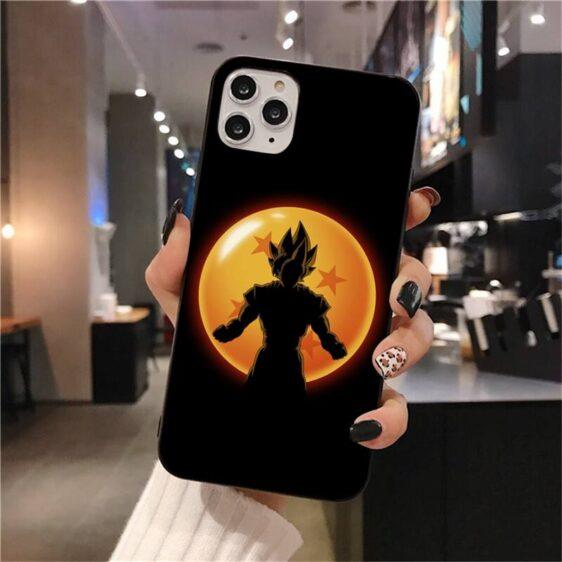DBZ Goku Silhoutte Dragon Ball iPhone 12 (Mini, Pro & Pro Max) Cover