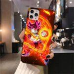 DBZ Goku Super Saiyan God Red iPhone 12 (Mini, Pro & Pro Max) Cover