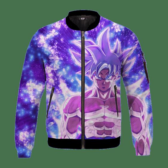 DBZ Goku Ultra Instinct Dope All Over Print Bomber Jacket