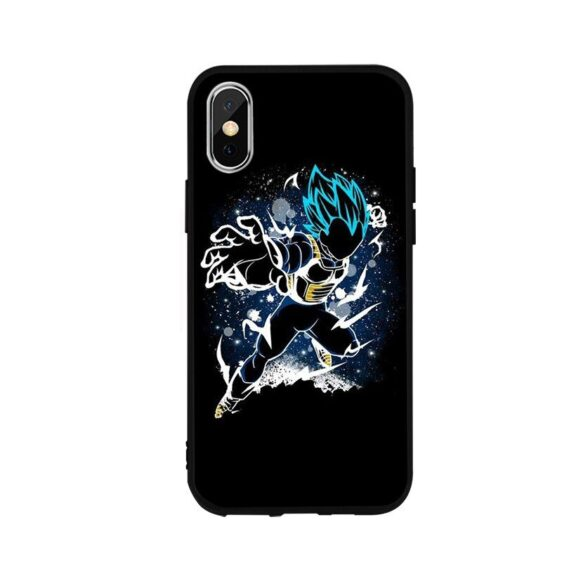 DBZ Vegeta Attacking Position iPhone 12 (Mini, Pro & Pro Max) Cover