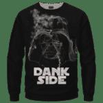 Darth Vader Smoke Dank Side Spoof Parody Sweatshirt