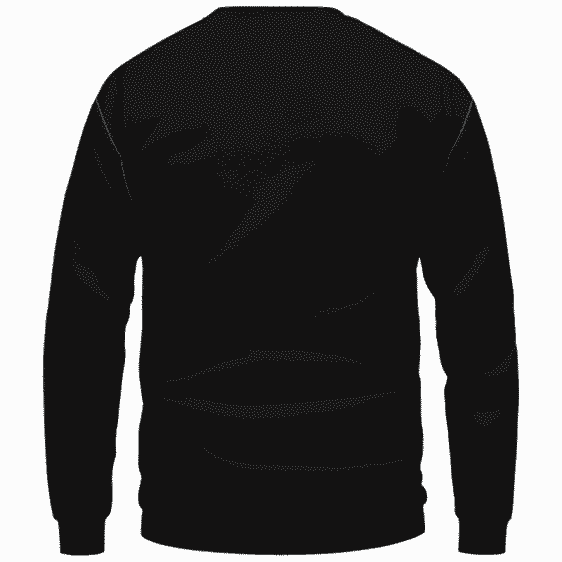 Darth Vader Smoke Dank Side Spoof Parody Sweatshirt - Back Mockup