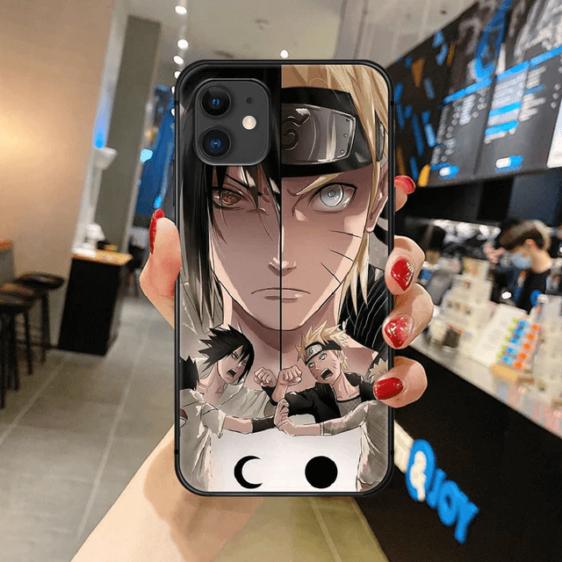 Dope Sasuke Naruto Fan Art iPhone 12 (Mini, Pro & Pro Max) Case