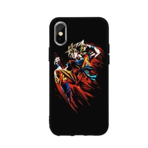 Dragon Ball Epic Goku Karate iPhone 12 (Mini, Pro & Pro Max) Cover
