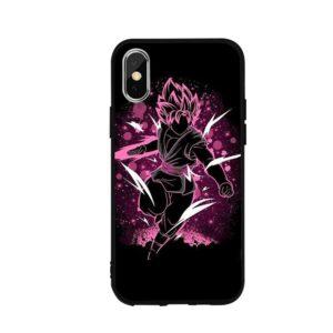Dragon Ball Goku Black Attacking iPhone 12 (Mini, Pro & Pro Max) Cover