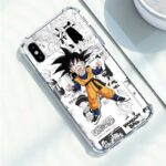 Dragon Ball Goku Jr. Comic iPhone 12 (Mini, Pro & Pro Max) Cover