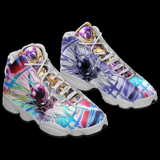 Dragon Ball Golden Frieza Dokkan Art Cool Basketball Sneakers - Mockup 1