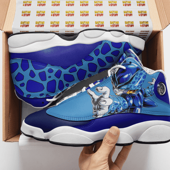 Dragon Ball Legends Cell Jr. Awesome Basketball Sneakers