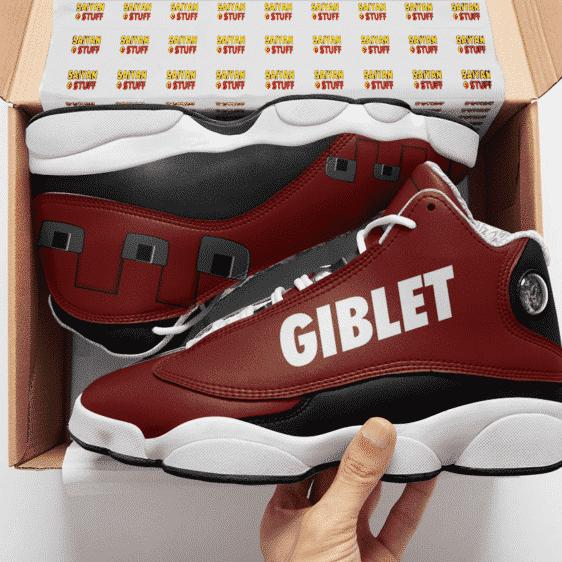 Dragon Ball Legends Super Saiyan Giblet Design Basketball Shoes