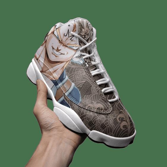 Dragon Ball Majin Vegeta Japanese Pattern Dope Basketball Sneakers - Mockup 3