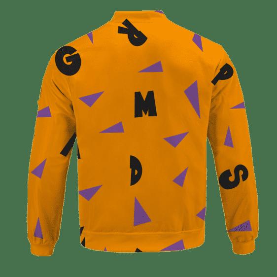 Dragon Ball Master Roshi Art Pattern Cosplay Bomber Jacket