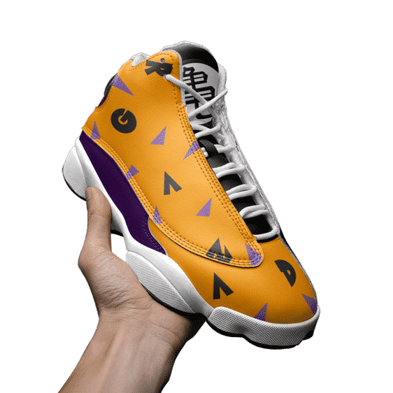 Dragon Ball Master Roshi Classic Pattern Basketball Sneakers