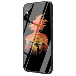 Dragon Ball Galaxy Silhouette Goku iPhone 12 (Mini, Pro & Pro Max) Cover