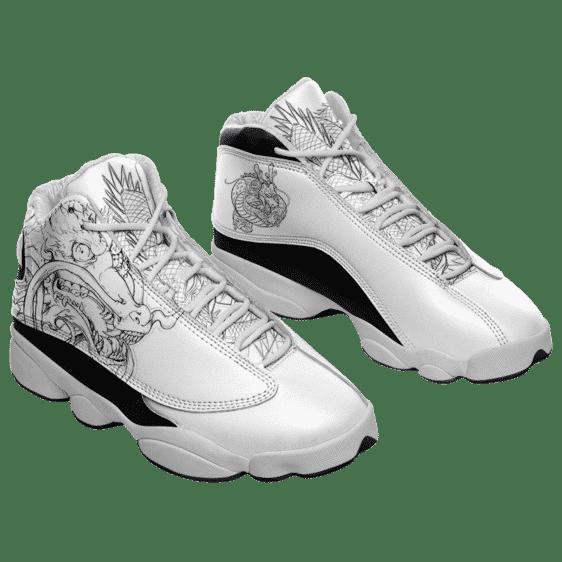 Dragon Ball Shenron Eternal Dragon Sketch Basketball Sketch