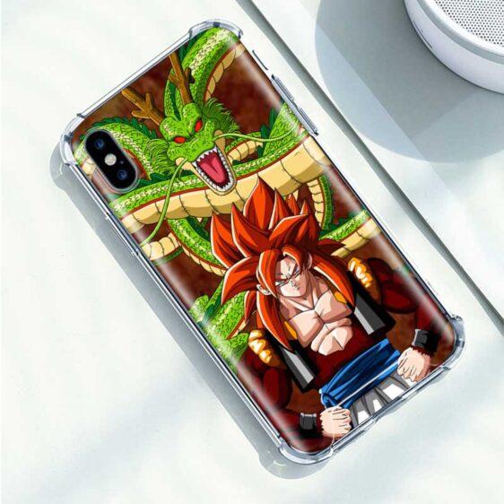 Dragon Ball Shenron & Goku SSJ4 iPhone 12 (Mini, Pro & Pro Max) Case