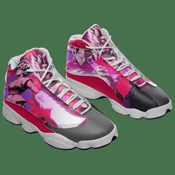 Dragon Ball Super Goku Black Budokai Rose Aura Basketball Shoes