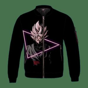 Dragon Ball Super Goku Black Super Saiyan Rose Bomber Jacket