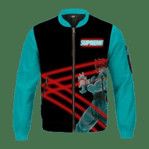 Dragon Ball Super Saiyan Blue Son Goku Supreme Bomber Jacket