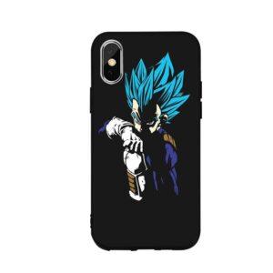 Dragon Ball Vegeta Fierce Aura iPhone 12 (Mini, Pro & Pro Max) Cover