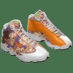 Dragon Ball Z All Characters Goku Basketball Sneaker Shoes