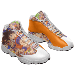 Dragon Ball Z All Characters Goku Basketball Sneaker Shoes