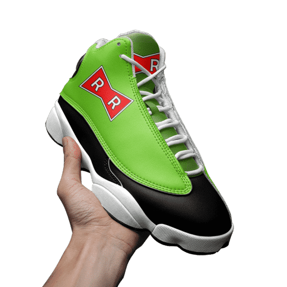 Dragon Ball Z Android 16 Awesome Basket Ball Sneakers