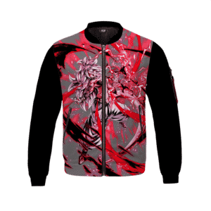 Dragon Ball Z Android 21 Powerful Graphic Bomber Jacket