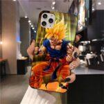 Dragon Ball Z Animated Goku iPhone 12 (Mini, Pro & Pro Max) Cover