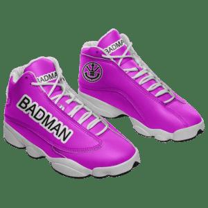 Dragon Ball Z Bad Man Vegeta Peace Outfit Basketball Sneakers
