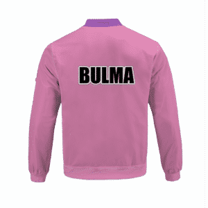 Dragon Ball Z Bulma Outfit Inspired Cosplay Bomber Jacket