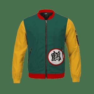 Dragon Ball Z Crane's Kanji Chiaotzu Bomber Jacket