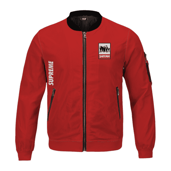 Dragon Ball Z Dream Team Supreme Red Bomber Jacket