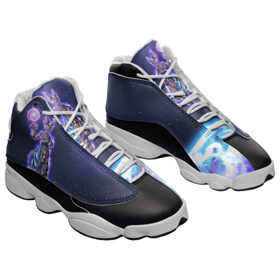 Dragon Ball Z God Of Destruction Beerus Basketball Sneakers