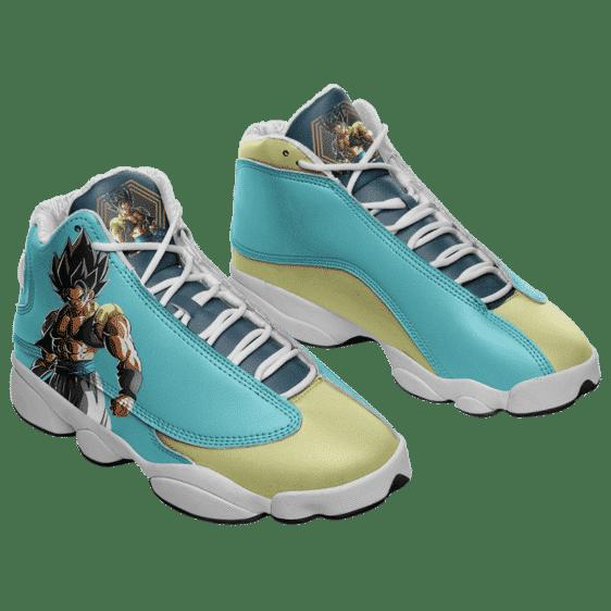 Dragon Ball Z Gogeta Cool Basketball Shoes - Mockup 1