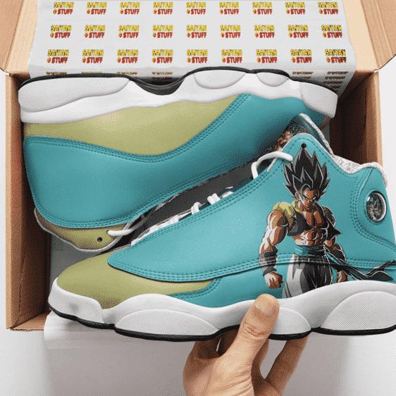 Dragon Ball Z Gogeta Cool Basketball Shoes - Mockup 2