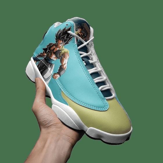 Dragon Ball Z Gogeta Cool Basketball Shoes - Mockup 3