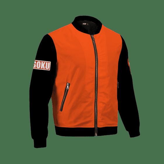 Dragon Ball Z Goku 59 Cool Minimalist Cosplay Bomber Jacket