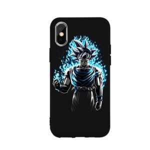 Dragon Ball Z Goku Angry Aura iPhone 12 (Mini, Pro & Pro Max) Cover