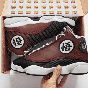 Dragon Ball Z Goku's Kanji Awesome Basketball Sneakers